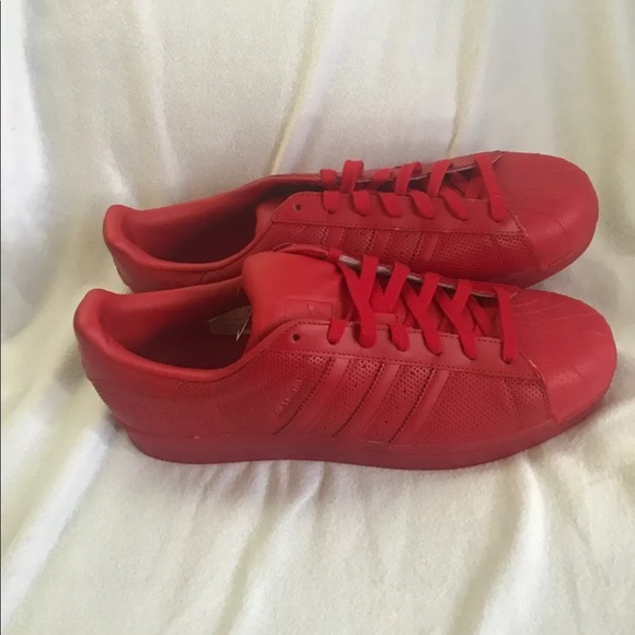 Mens adidas classic superstar sneakers size 13 NWT